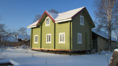 Проект дома П-1
