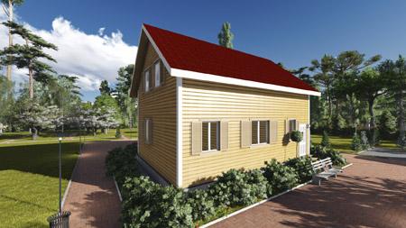 Проект дома П-8